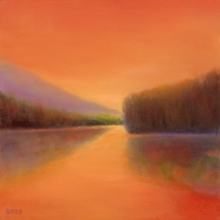 "<h5>Around the Bend</h5><p>20"" x 20""</p>"